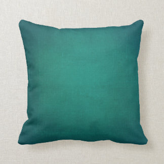 Turquoise Greenish Blue Rustic Room Accent Throw Pillow