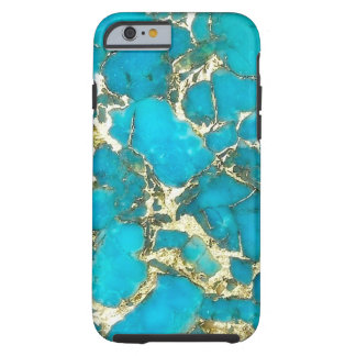 """Turquoise iPhone Case"" Tough iPhone 6 Case"
