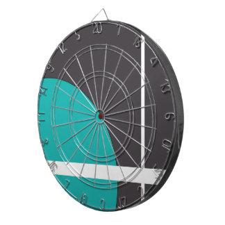 Turquoise Line Dartboard