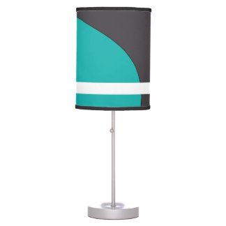 Turquoise Line Table Lamp