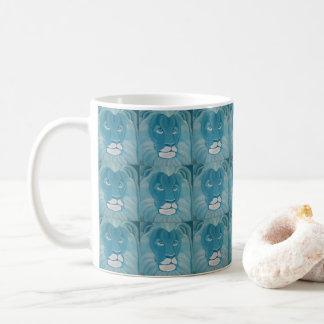 Turquoise Lion Mug