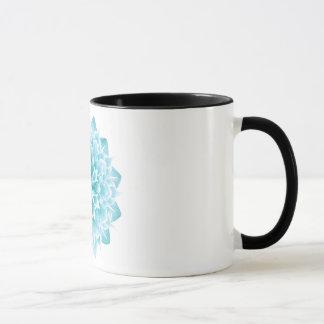 Turquoise Lotus Mug. Mug