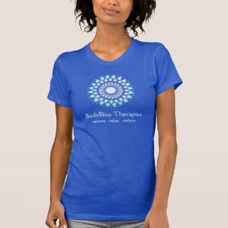 Turquoise Lotus Yoga Teacher Health Spa T-Shirt