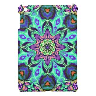 Turquoise Mandala Abstract iPad Mini Covers