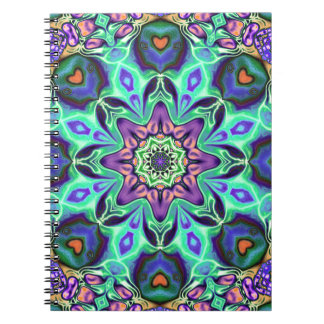 Turquoise Mandala Abstract Notebook