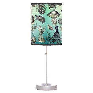 Turquoise, Marine Life Table Lamp