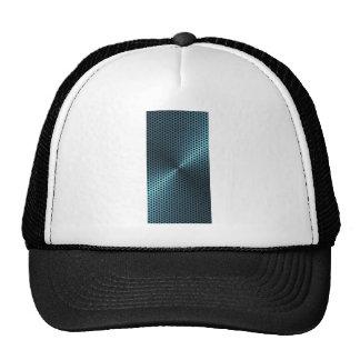 Turquoise Metal Hat