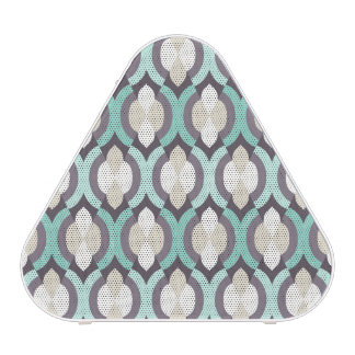Turquoise Moroccan Pattern Blueooth Speaker