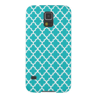 Turquoise Moroccan Pattern Galaxy S5 Cover