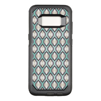 Turquoise Moroccan Pattern OtterBox Commuter Samsung Galaxy S8 Case