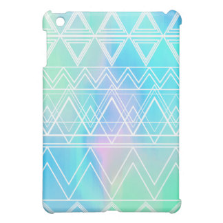 Turquoise Multi Tribal iPad Mini Cover
