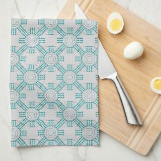 Turquoise Nexus Kitchen Towel