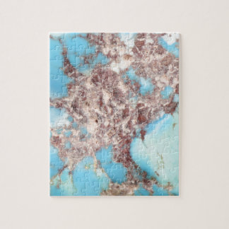 Turquoise Nugget Jigsaw Puzzle