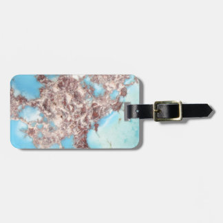 Turquoise Nugget Luggage Tag