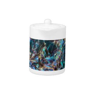 Turquoise Oil Slick Quartz