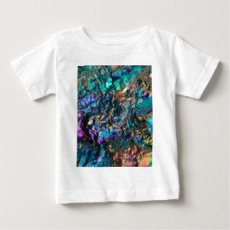 Turquoise Oil Slick Quartz Baby T-Shirt