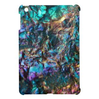 Turquoise Oil Slick Quartz Case For The iPad Mini