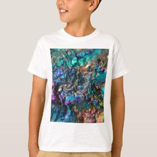 Turquoise Oil Slick Quartz T-Shirt
