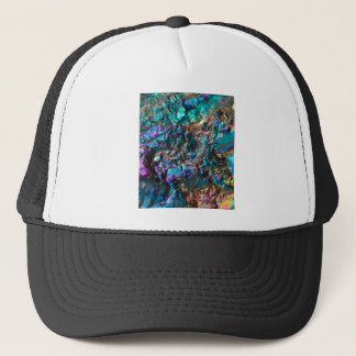 Turquoise Oil Slick Quartz Trucker Hat