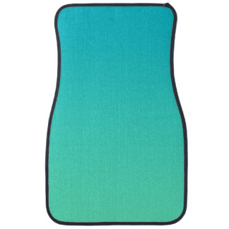 """Turquoise Ombre"" Car Carpet"
