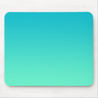 """""""Turquoise Ombre"""" Mouse Pad"""