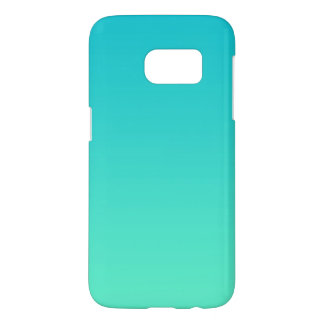 Turquoise Ombre Samsung Galaxy S7 Case