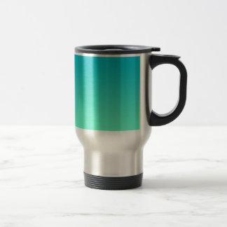 Turquoise Ombre Travel Mug