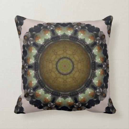 Turquoise Palace. Throw Pillow
