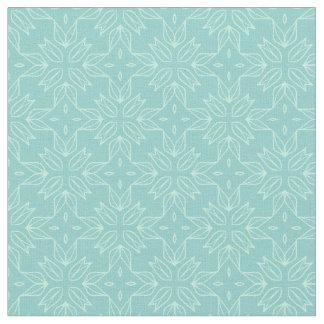 Turquoise Pattern Fabric