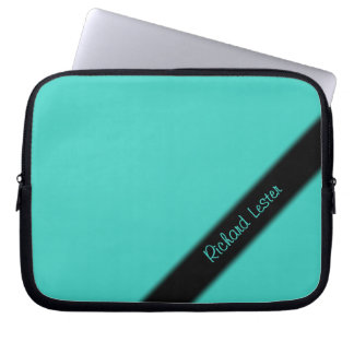 Turquoise Personal Laptop Sleeve