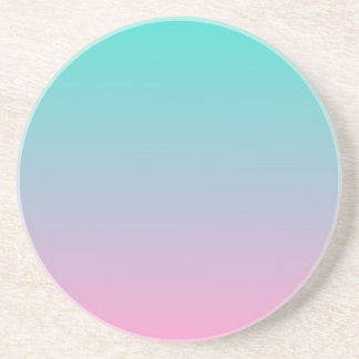 Turquoise Pink Ombre Coasters