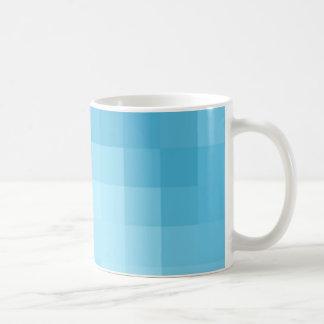 Turquoise Pixel Mug