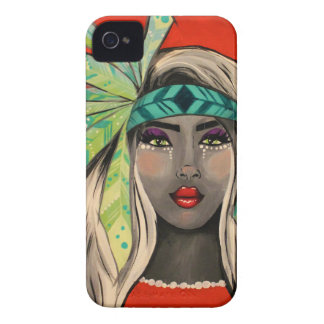 Turquoise Princess iPhone 4 Case-Mate Case