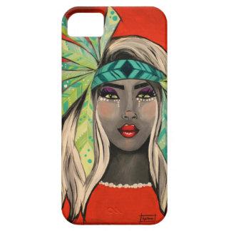 Turquoise Princess iPhone 5 Case