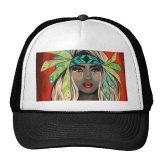 Turquoise Princess Trucker Hat