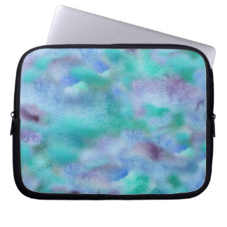 Turquoise Purple Laptop Sleeve 10''