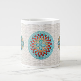 Turquoise Quill Inspired Mug Design