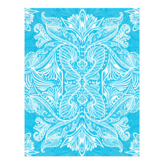 Turquoise, Raven of mirrors, dreams, bohemian Letterhead