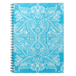 Turquoise, Raven of mirrors, dreams, bohemian Notebook