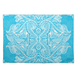 Turquoise, Raven of mirrors, dreams, bohemian Placemat