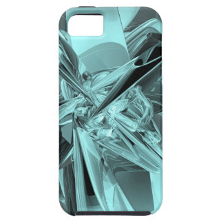 Turquoise Reflections iPhone 5 Cover