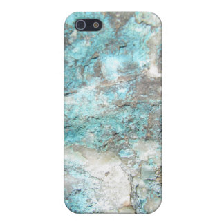 Turquoise Rock iPhone 5 Cover