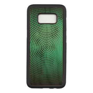 Turquoise Samsung Galaxy S8 Slim Cherry Wood Case