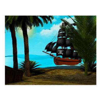 Turquoise Seas Postcard