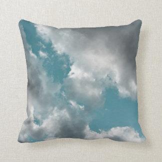Turquoise Skies Throw Pillow