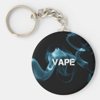 Turquoise Smoke Vape On Keychain