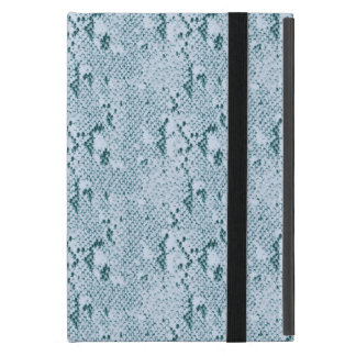 Turquoise Snake Skin Case For iPad Mini