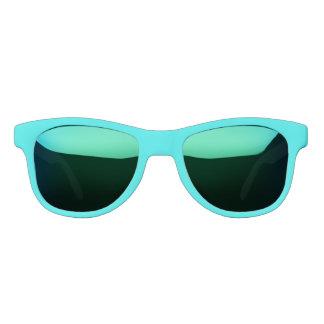 Turquoise Solid Colour Sunglasses