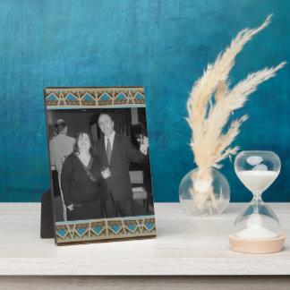 Turquoise Southwest Photoframe Plaque