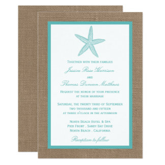 Beach Wedding Invitations Announcements Zazzle Canada